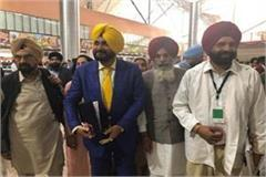 navjot sidhu and other leaders returned from kartarpur sahib