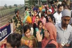 passports were circulated to the visitors of kartarpur sahib