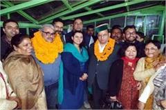 election of shimla and kasumpti bjp mandal
