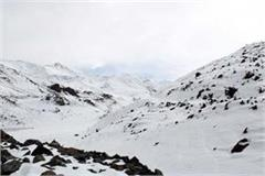 heavy snowfall on rohtang pass