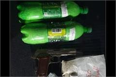 smuggler arrested with heroin and revolver