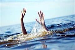 person drown in gobind sagar lake