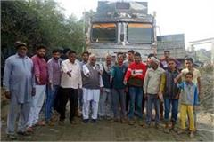 rural against overloaded tipper