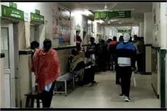 increasing number of patients in hospitals due to increasing cold