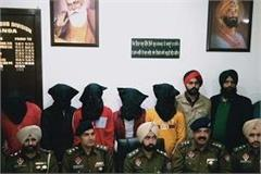 four accomplices of fugitive soldiers also arrested with weapons