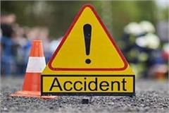alto car collided activa girl seriously injured