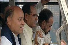 shivraj singh chauhan and gopal bhargava arrested