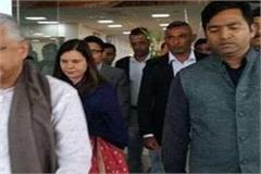 pm of mauritius visits navisha sheesh in baglamukhi mahakal temple