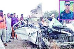 collision haryana roadways car one killed 12 injured