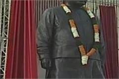 25 feet tall bronze statue of vajpayee completed in six months