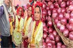 mama gave five quintal onions for nieces wedding in rohtak haryana