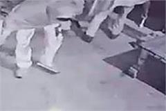 limit reached homeguard jawans imprisoned on cctv while stealing onions