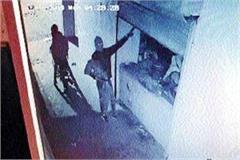 cash stolen locks 2 shops cctv incident