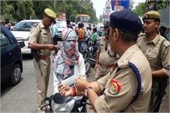 police cuts challan of 10 minor drivers stir