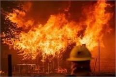 6 including 5 children of the same family died due to fire by short sharkit