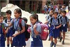 case rotate school  open school orders director education department