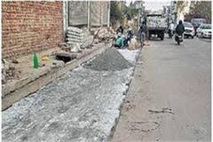 construction work started pollution stopped