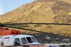 107 people crossed the rohtang pass in helicopter flights