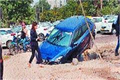 vehicles damaged dozen vehicles victims storm drain