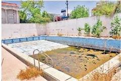 department construct swimming pool work completed possible