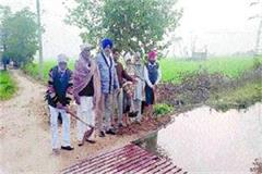 department s negligence water fields canal overflow
