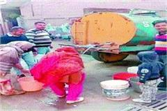 villagers over water not changing transformer panchayat ignored