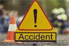 high speed car collided scooty one dead