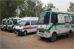 6 new ambulances route district monday 3 declared condom