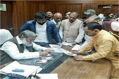 wrestler yogeshwar met home minister anil vij