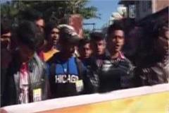 nsui rages against genocide on jamia university students protests