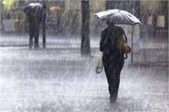 heavy rain warning in mp