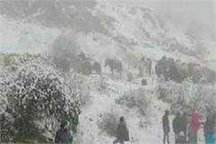 fresh pictures of snowfall in kufr