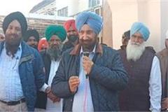 cabinet minister randhawa raises questions on captain sarkar