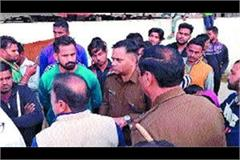 police and cow guard came face to face in case of cow smuggling