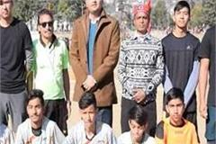 players will play football in dhalpur ground for 3 days