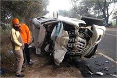 sangrur 2 air force personnel killed in road accident