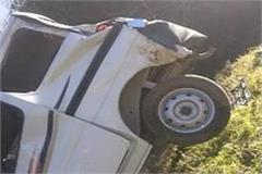 accident with youth going to shimla rally one killed