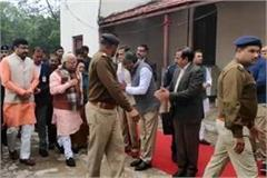 cm khattar visit gurugram