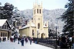 snowfall in shimla