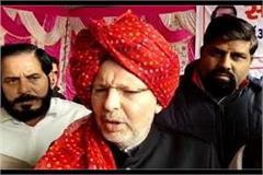 mp arvind sharma once again raised demand to form ahir regiment