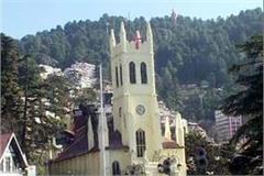 celebrated christmas festival in shimla