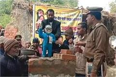 up anarchists again toothed dr ambedkar s statue fiercely created ruckus