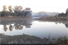 in pachmarhi the mercury dropped to 1 degree