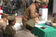 mau police on the instructions of sp to compensate for the loss