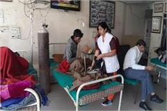 winter season continues in bhiwani number of patients increased with cold