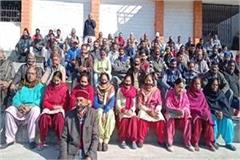 bilaspur bhakra displaced protest