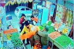 migrant youth beating the shopkeeper