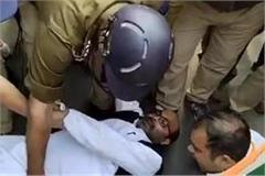 ajay lallu dragged into custody said where did justice law talkers go