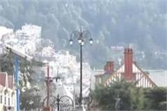 tourists gathered in shimla to welcome 2020