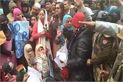 caa nrc protest women in hapur with memorandum submitted to dm